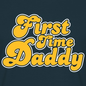 First Time Daddy Colors T-Shirt YN - Men's T-Shirt