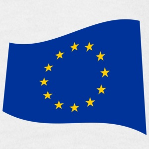 Saint George's Cross & European Union Sleeve Combination - Men's T-Shirt