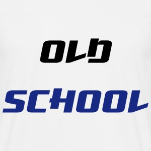 Old School T-shirts - Mannen T-shirt