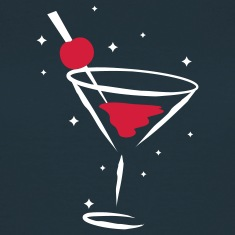cocktail glass T-Shirts