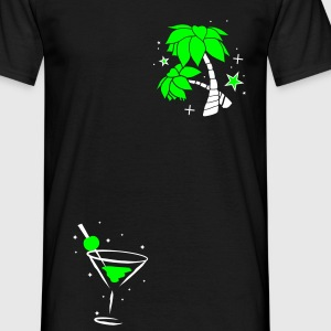 cocktail glass T-Shirts - Men's T-Shirt