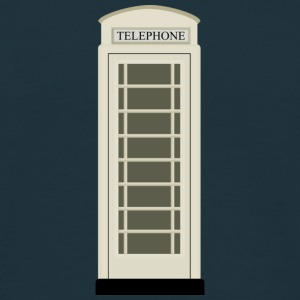 Kingston Upon Hull Cream Phone Box, Hullensian - Men's Classic T-Shirt - Men's T-Shirt