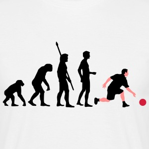 evolution_bowling_player_3c Camisetas - Camiseta hombre