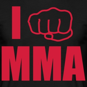i fight mma T-Shirts - Men's T-Shirt