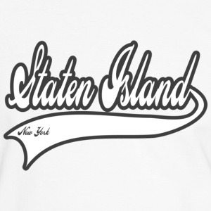 staten island new york T-shirts - T-shirt contraste Homme
