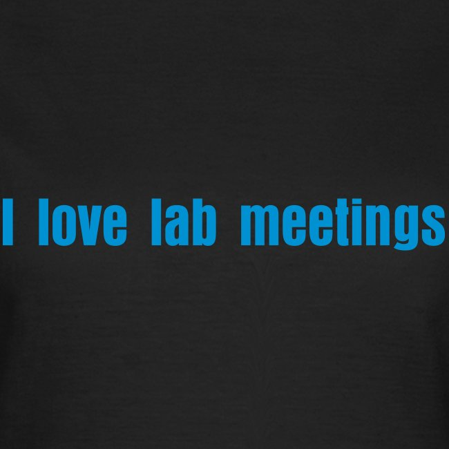 I love lab meetings