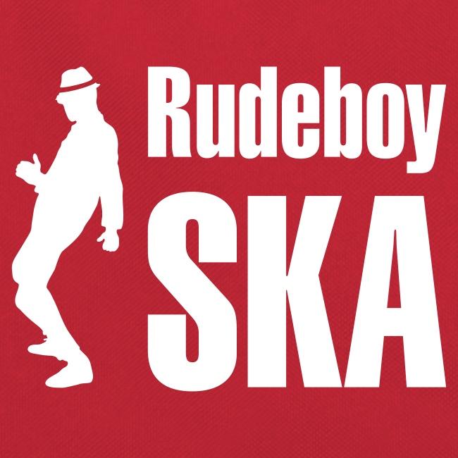 rote Retro-Tasche  Rudeboy Ska