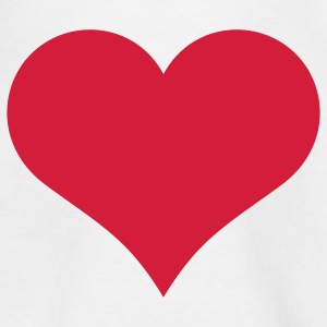 heart valentines day Kinder shirts - Teenager T-shirt