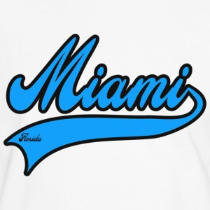 miami florida T-shirts - T-shirt contraste Homme