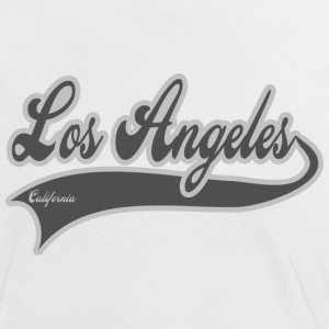 los angeles california T-shirts - T-shirt contraste Femme