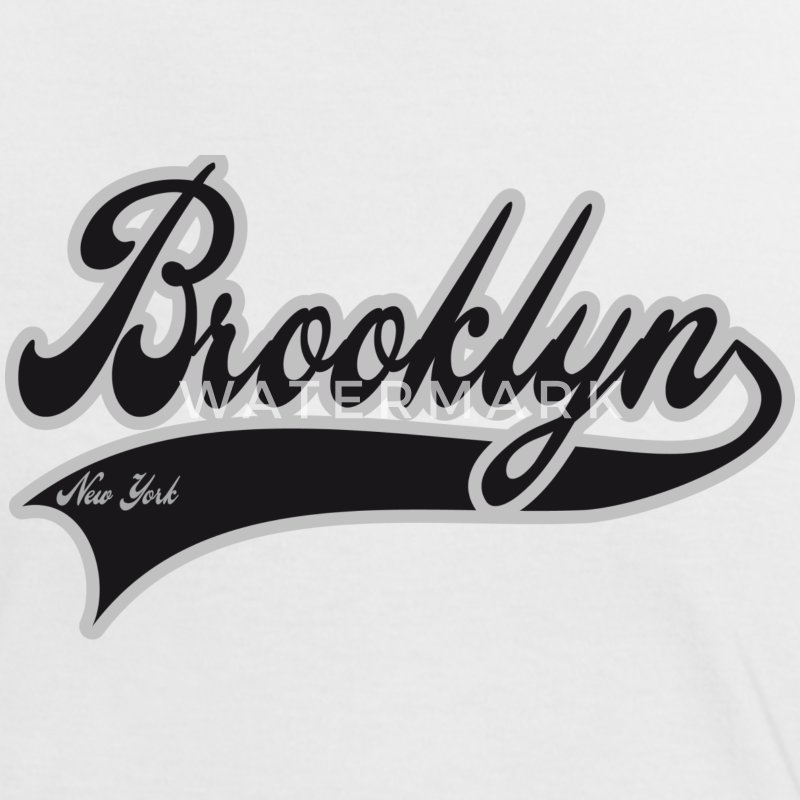 brooklyn new york T-shirts - T-shirt contraste Femme