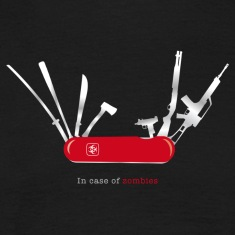 In case of zombies T-Shirts