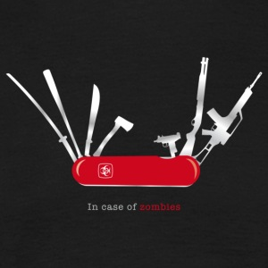 In case of zombies T-Shirts - Männer T-Shirt