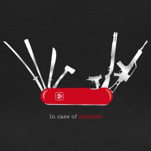 In case of zombies T-Shirts - Frauen T-Shirt