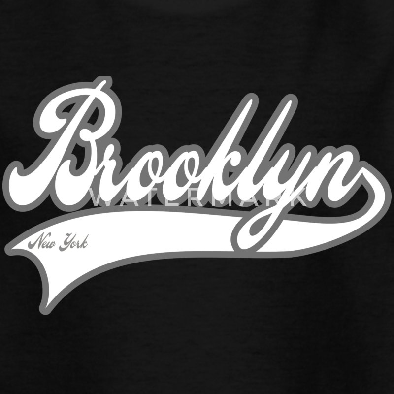 brooklyn new york Kinder T-Shirts - Teenager T-Shirt