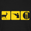Deer - Shoot - Eat - Men's T-Shirt