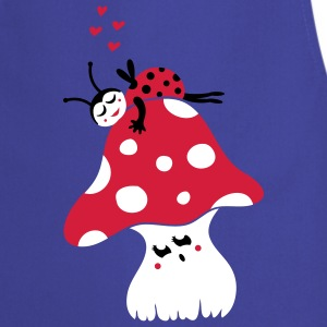 Ladybug and fly agaric  Aprons - Cooking Apron