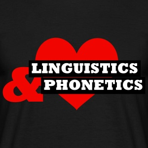 Linguistics & Phonetics T-Shirts - Männer T-Shirt