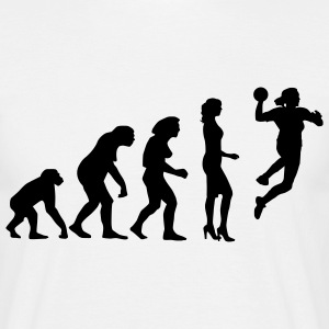 evolution_handball_spielerin_c_1c T-Shirts - Men's T-Shirt