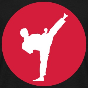 Martial Arts, Kick T-shirts - T-shirt herr