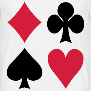 Poker - Cards T-shirts - Herre-T-shirt