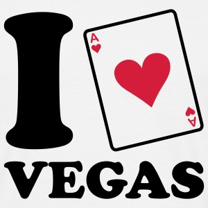 I love Vegas T-shirts - Herre-T-shirt