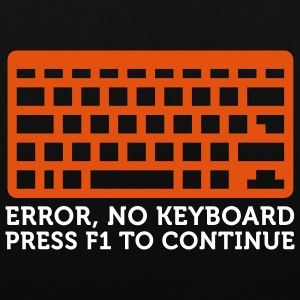 Error No Keyboard (2c) Bags  - Tote Bag