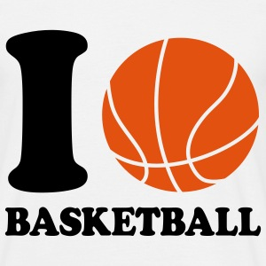 I love Basketball T-shirts - T-shirt Homme
