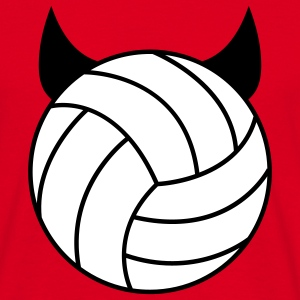Volleyball - Devil T-shirts - T-shirt herr