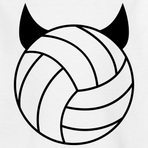 Volleyball - Devil Barneskjorter - T-skjorte for tenåringer