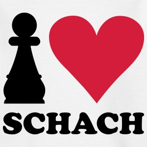I love Schach Kinder T-Shirts - Teenager T-Shirt