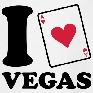 I love Vegas Kinder shirts - Teenager T-shirt