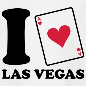I love Las Vegas Kinder T-Shirts - Teenager T-Shirt