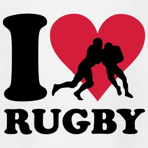I love Rugby Kinder shirts - Teenager T-shirt