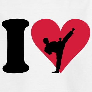 I love Fighting Barn-T-shirts - T-shirt tonåring