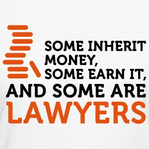 Some Men are Lawyers (2c) T-shirts - Ekologisk T-shirt dam