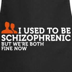 I used to be schizophrenic 2 (2c) Fartuchy - Fartuch kuchenny