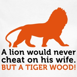 Lions Cheat Wife 2 (2c) T-Shirts - Women's T-Shirt