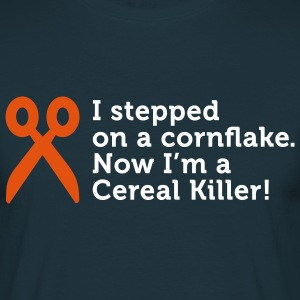 I'm a Cereal Killer (2c) T-shirts - Mannen T-shirt
