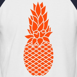 The pineapple T-Shirts - Men's Baseball T-Shirt