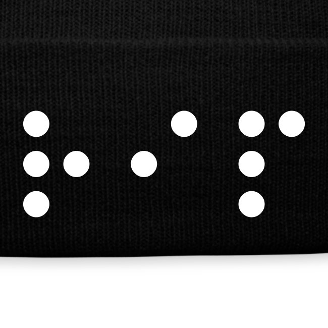 Cappello RIP Braille