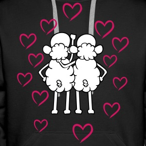 Sheep - Friends Hoodies & Sweatshirts - Men's Premium Hoodie