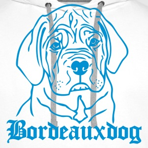 www.dog-power.nl - Sweat-shirt à capuche Premium pour hommes