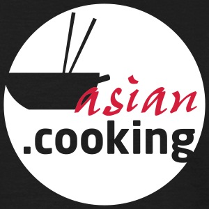 asian.cooking // t.shirt (backprint)  - Männer T-Shirt