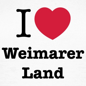 i love weimarer land T-Shirts - Frauen T-Shirt