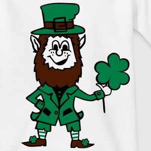 St. Patrick's day leprechaun Kinder T-Shirts - Teenager T-Shirt