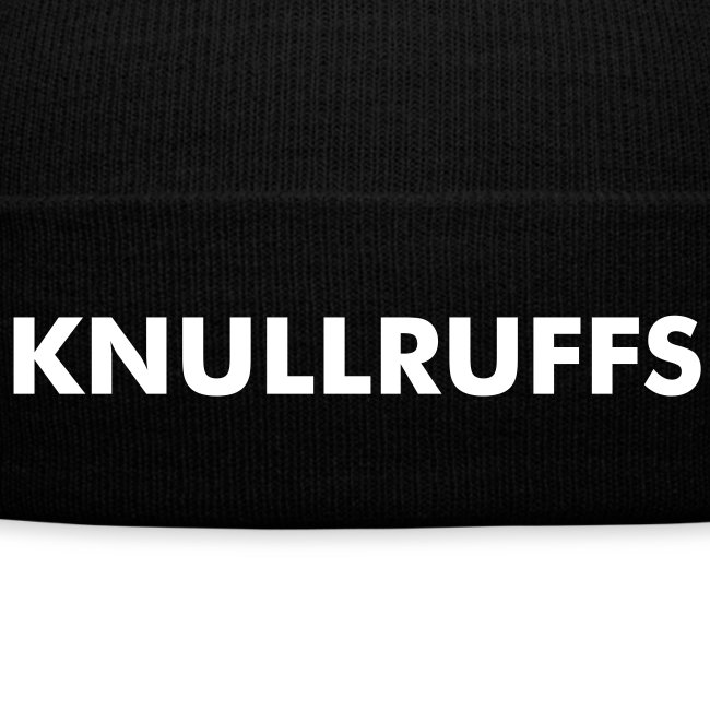 Bad hair day? Knullruffs!