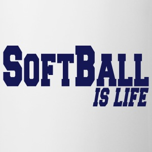 softball is life Mugs  - Mug
