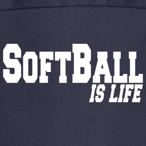 softball is life Forklær - Kokkeforkle