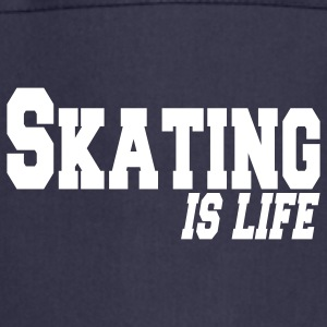 skating is life  Aprons - Cooking Apron